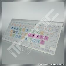 Final Cut Pro X shortcuts Keyboard Cover Apple Macbook Pro Silicone Protector