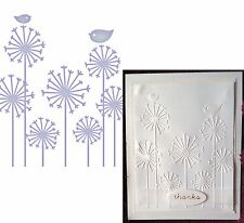 Flowers Embossing folder PERSUASION BLOOMS - COUTURE CREATIONS folders CO723299