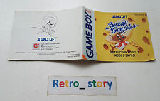 Nintendo Game Boy Speedy Gonzales Notice / Instruction Manual