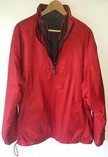 GIORDANO® Men's Reversible Windbreaker/Fleece Jacket Sz. XL