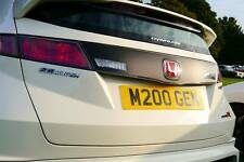 HONDA CIVIC TYPE R FN2 REAR CLUSTER PANEL VINYL STRIP - CARBON STYLE * OFFER!*