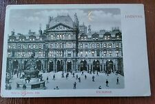 LIVERPOOL EXCHANGE HOLD TO THE LIGHT W H BERLIN POSTCARD
