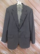 Polo University Club Blazer Ralph Lauren Jacket Gray 100% Virgin Wool Men's Sz S