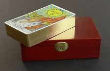 LAST ONE! Rider Waite Deluxe Limited Edition Tarot Cards Gold Edges 48/500