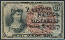#Fr1259 Gem Cu 10¢ Fractional Currency Br4692