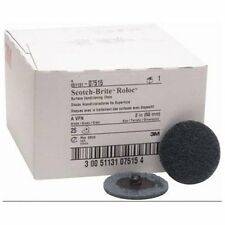 "3m 07515 2"" Scotch Brite Roloc Surface Conditioning Discs Very Fine Blue"