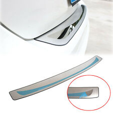 FIT FOR FOCUS MK3 4DR SEDAN REAR TRUNK BUMPER DOOR SILL PLATE PROTECTOR COVER