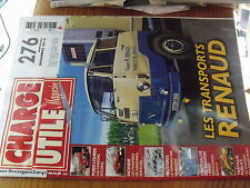 µ?a Revue Charge Utile n°276 Dumpers MOXY Panhard EBR Transpord Renaud BUSSING