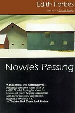 VG, NOWLE'S PASSING by the author of ALMA ROSE., Forbes, Edith, 1878067990, Book