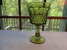 BEAUTIFUL VINTAGE FENTON COLONIAL THUMBPRINT WINE OR WATER GOBLET - PERFECT