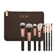 Zoeva 8pcs Makeup Brushes Rose Golden Luxury Make Up Tools Kit Powder Blend