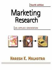 Marketing Research: An Applied Orientation with SPSS, Fourth Edition