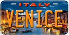 Venice Italy Aluminum Novelty Car Tag License Plate P03