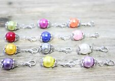 12pcs mix dangle Floating Charm for Glass Memory Locket necklace B260