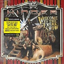 HINDER WELCOME TO THE FREAK SHOW CD PA 5 BONUS TRACKS RARE EXCLUSIVE new sealed