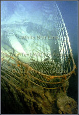 Photo: Color: RMS Titanic's Bow At The Wrecksite - High Angle View
