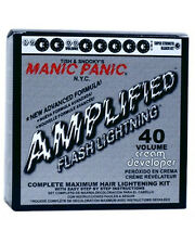 MANIC PANIC Flash Lightning Bleach Kit 40 vol Peroxide Blonde For Bleaching