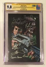 ALIENS #4 VARIANT CGC SS 9.8 • SIGNED BY CAST (12) • WEAVER • BILL PAXTON  (1)