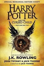 Harry Potter and the Cursed Child Parts 1 & 2 Special Rehearsal Edition Script