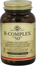 """B-Complex """"50"""", Solgar, 100 capsule"""