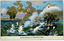 Cartolina Marina - Bombardamento Di Monfalcone - Viaggiata