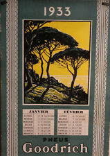 AFFICHE ANCIENNE AGAY BRODERS