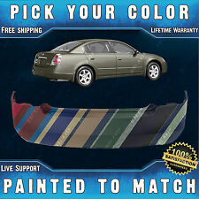 NEW Painted To Match - Rear Bumper Cover For 2002-2006 Nissan Altima