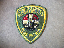 vintage Los Angeles County Parks & Recreation Park California CA police patch 3