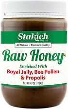 40oz ROYAL JELLY BEE POLLEN PROPOLIS RAW HONEY Fresh 100% Natural Pure Best