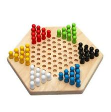 Chinese Checker Traditional Childen Kid Educational Toy Portable Fun Game Board