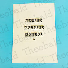 COPY OF SEWING MACHINE MANUAL/INSTRUCTION BOOK FOR RICCAR,FRISTER AND ROSSMAN,+
