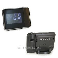 Digital Color Display LED Backlight Weather Station Projection Snooze Clock