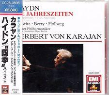 HERBERT VON KARAJAN Haydn Die Jahreszeiten 1987 Japan sample CD SEALED CC28-3806