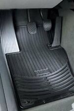 E46 BMW 3-SERIES 1999-2005 BLACK RUBBER MATS - FRONT