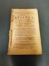 1783 - Unbound Sermon by William Penn- 49 pages