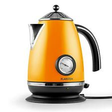 NEW CORDLESS KETTLE ELECTRIC WATER JUG 2200W 1.7L ORANGE * FREE P&P UK OFFER