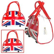 WOMEN UNION JACK STYLE BRITISH FLAG LONDON ENGLAND FASHION HAND PURSE HANDBAG