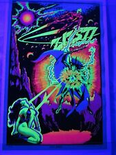 Vintage Psychedelic Blacklight Poster SPACE DEMON PP-182 1972 AA Sales Inc RARE