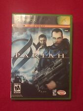 Original XBox Video Game Pariah Rated M Live Online Enabled