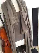 Donna Karan Sweater coat and top  Taupe color, S-M $3,200