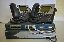CISCO 2821 512D/1GB CCENT CCNA VOICE LAB IOS 15.1(4)M CME 8.6 3500 POE