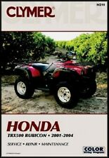 CLYMER SERVICE REPAIR MANUAL HONDA TRX500FA RUBICON 500 4X4 2001 2002 2003 2004