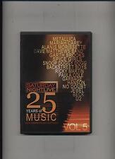 Saturday Night Live - 25 Years of Music Volume 5 DVD