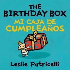 The Birthday Box Mi Caja de Cumpleaños by Leslie Patricelli (2010, Board Book)