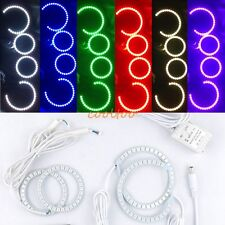 LED Multi-Color Remote SMD RGB ANGEL EYES HALO RING Lamps for 2003-2007 Mazda 6