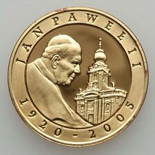 "POLAND  2005  10 ZLOTYCH  ""POPE JOHN PAUL II ""  GEM PROOF SILVER COIN"
