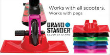 Grand Stander Scooter Stand- Razor- Lucky- Phoenix- District RED