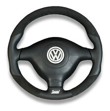 MK4 GTI R32 GLI GTI GOLF NAPPA LEATHER / ALCANTARA STEERING WHEEL EXCLUSIVE