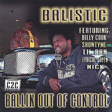 Balistic: Ballin Out of Control Explicit Lyrics Audio CD