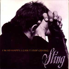 CD SINGLE  STING I'm So Happy I Can't Stop Crying US promo 1-track CARD SLEEVE